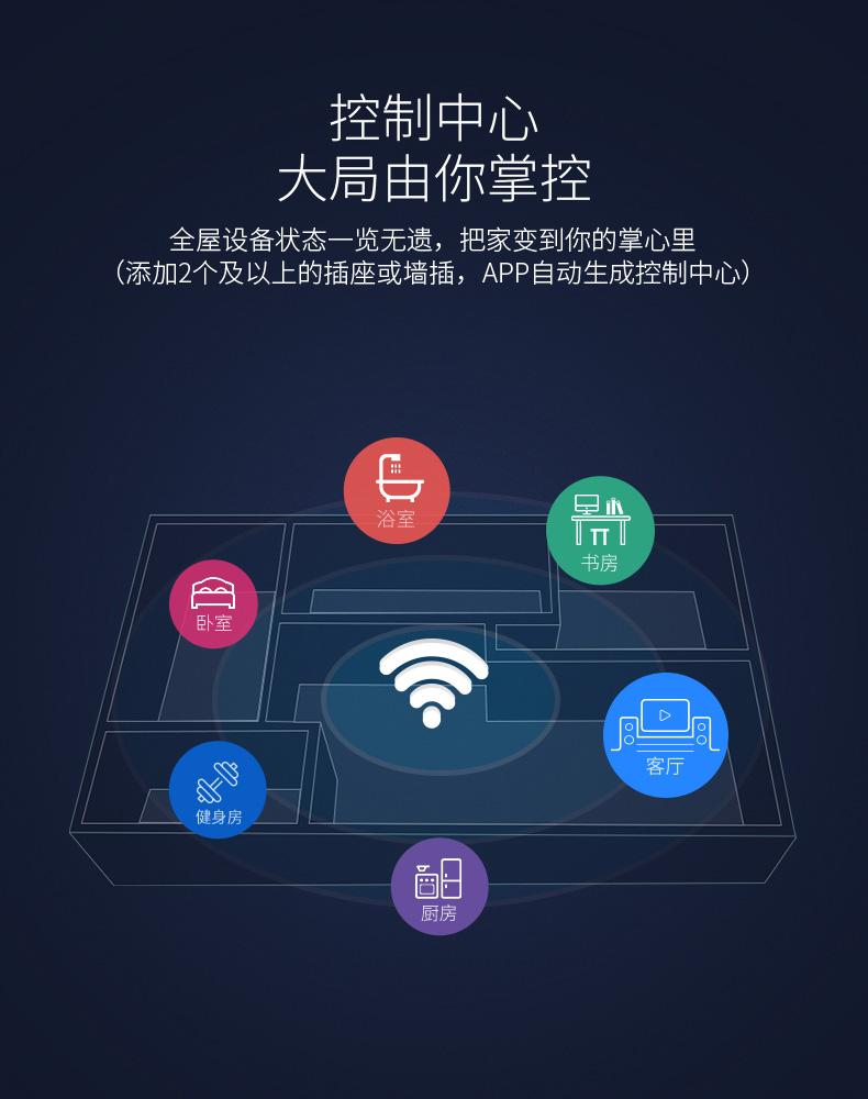 天猫精灵无线智能家居wifi插座手机远程控制sp mini3遥控定时开关